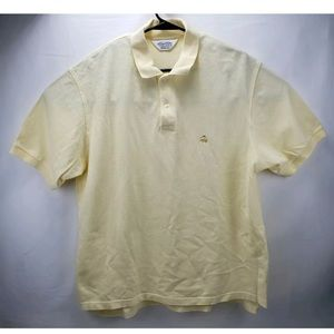 Brooks Brothers Golden Fleece Yellow Polo Large